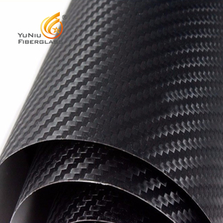 6K Carbon Fiber Cloth Fabric 320GSM Plain Weave 100%real Carbon Cloth