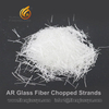 China National Standard Alkali Resistant Glass Fiber Chopped Strands for Cement