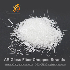24mm concrete glass fiber/fiberglass chopped strands for concrete