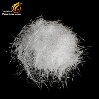 Staple High Silica glass fiber Chopped Strand for needle mat hot sale