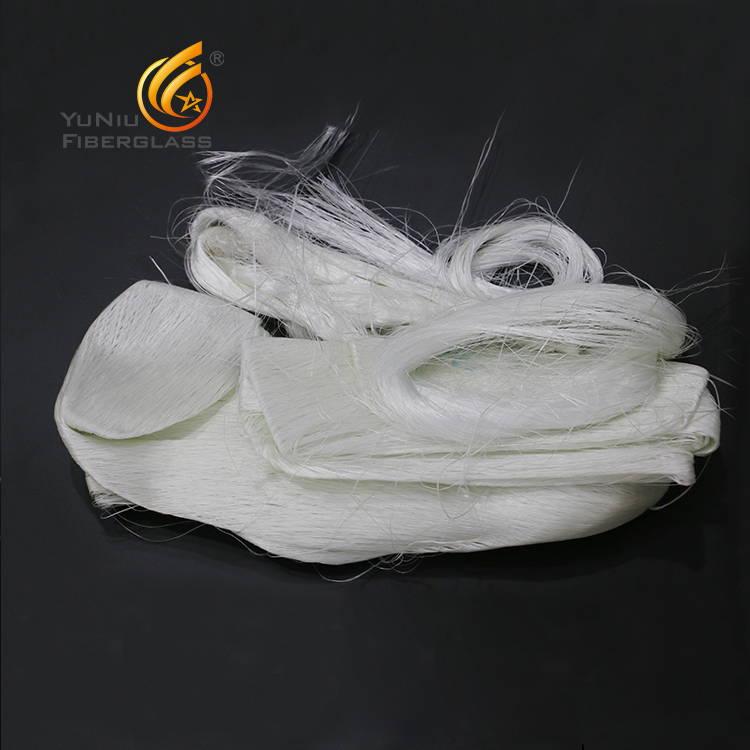 Fiberglass Waste Direct Roving Fiberglass Waste Roving Factory Sale