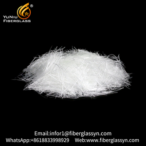 Silica Fiberglass Staple Yarn High Silica Chopped Fiber for Needled Mat