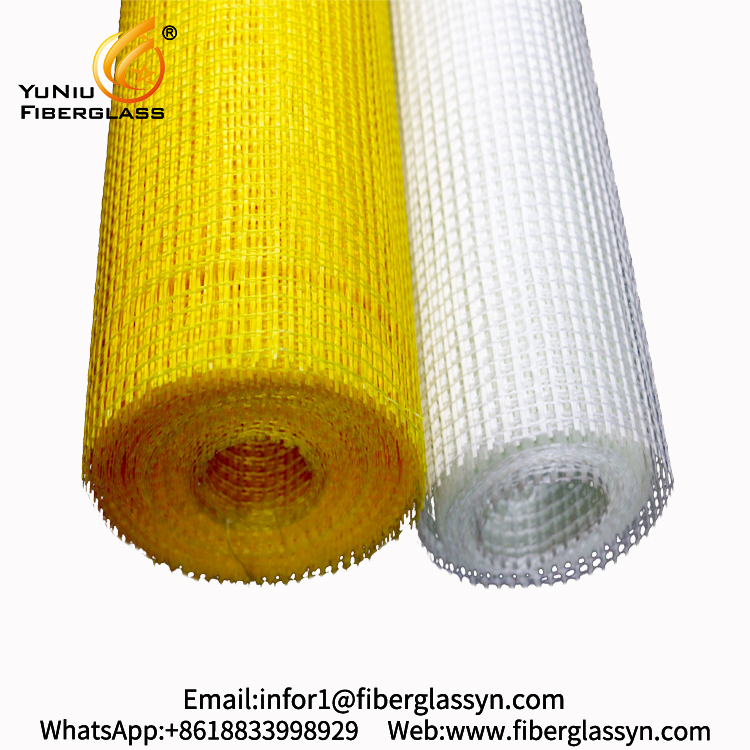 Factory Wholesale fiber glass mesh fabric