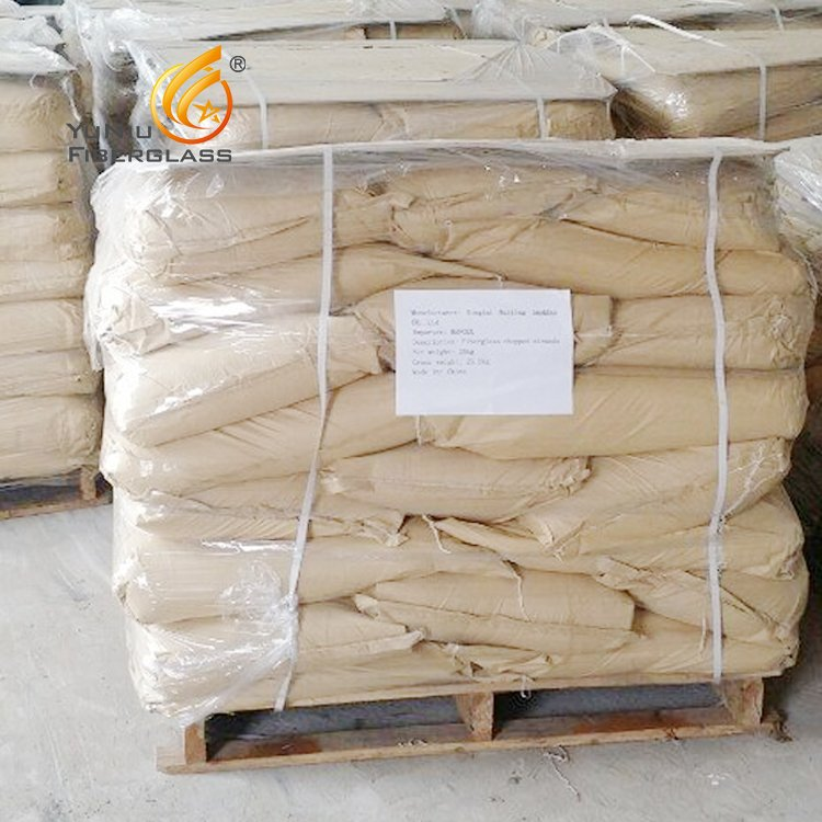 Factory supply Fiberglass Chopped strands for construction