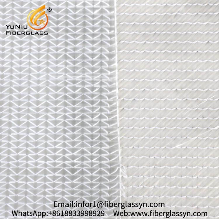 450g stitched fiberglass multiaxial fabric in +/-45 degree for FRP snowboard