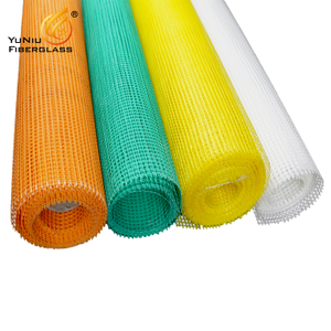 factory price 75gr 1x50m Fiberglass net glass fiber mesh for plastering