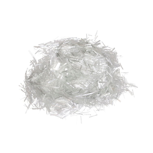 Fiberglass chopped strands for cement