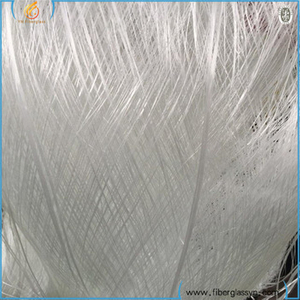 Best price of fiberglass roving scrap E glass waste fiberglass roving/ fiberglass scrap