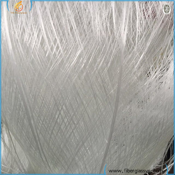 China coated fiberglass roving fiberglass yarn waste