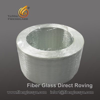 Mass Production E-glass fiber Glass Roving direct 4800 tex
