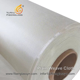 High Strength E-glass Fiber Plain Weave Cloth In In Egypt