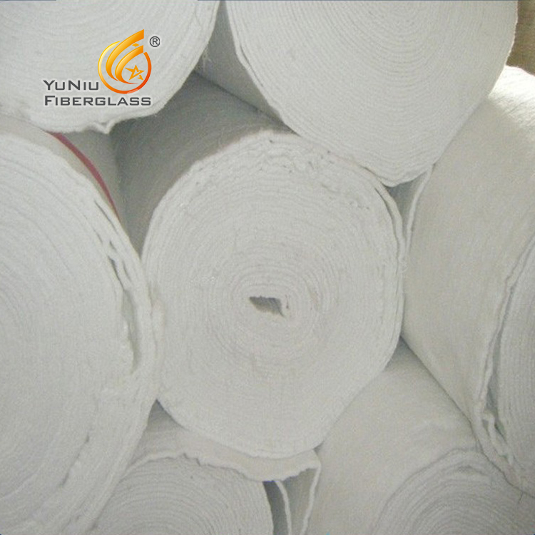 Heat insulation material fiberglass mat e-glass fiber needled mat for house hold appliances -Needle Punch Mattress