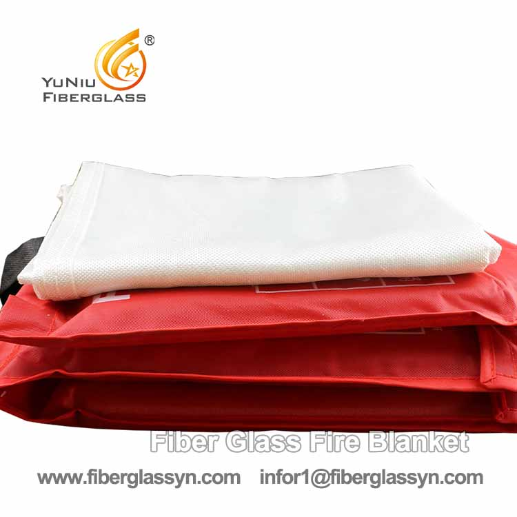 Mass Production Fire Blanket Made By Fiberglass Cloth